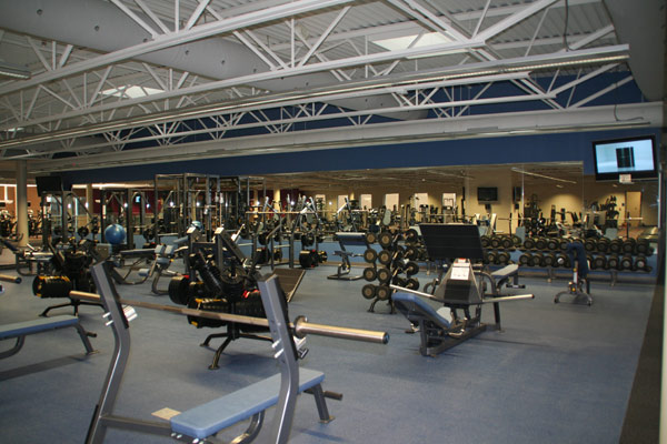 Fitness floor inwood athletic club