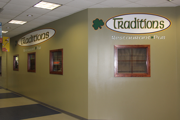 Traditions restaurant inwood athletic club